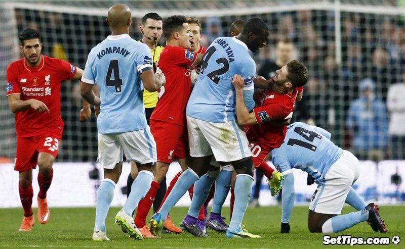 Ливерпуль - Манчестер Сити прогноз: Смогут ли «горожане» увезти 3 очка с «Уэмбли»?
